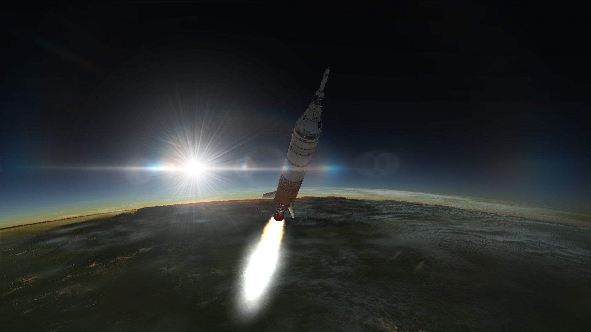 Заброска на орбиту в космос