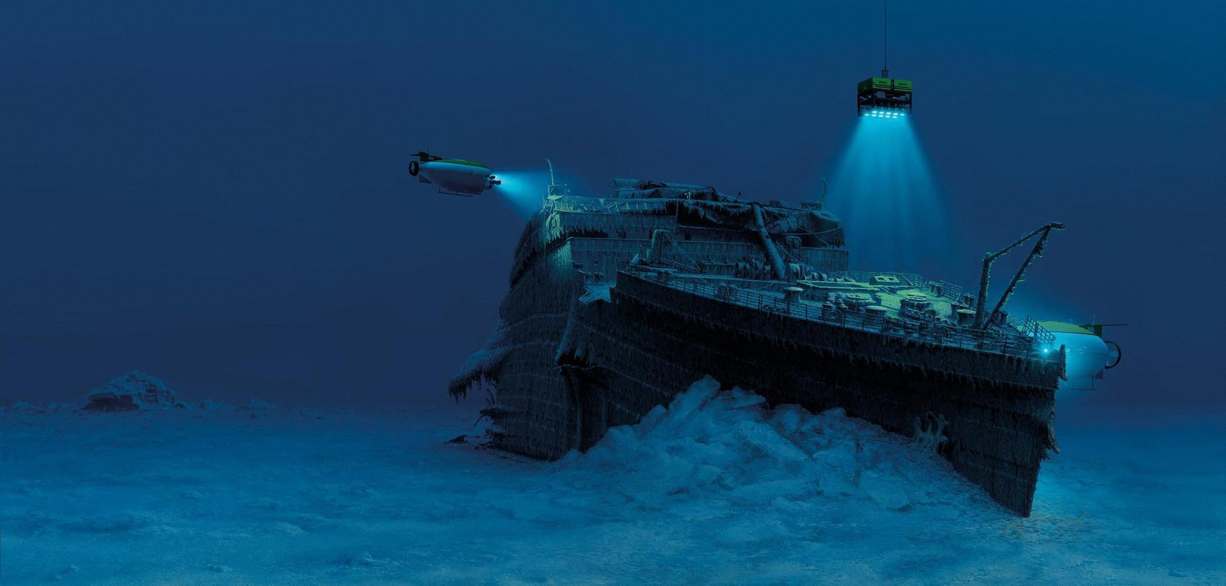 Экстремальная экскурсия на «Титаник»