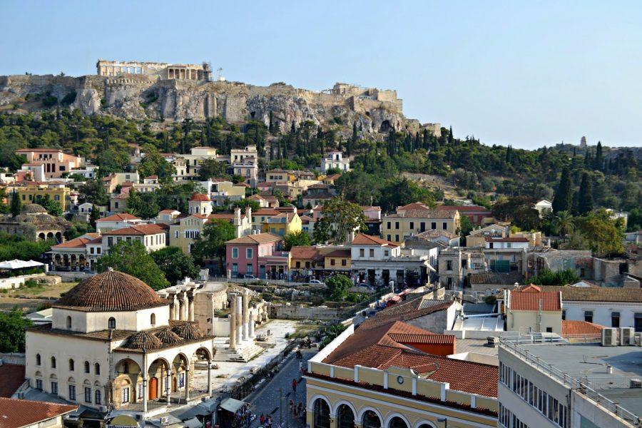 Афины, Греция для молодых туристов