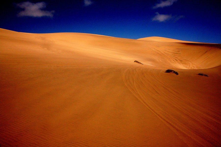 Пустыня Намиб как инопланетный пейзаж