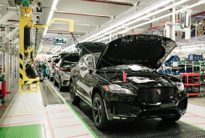 Экскурсия на завод Jaguar