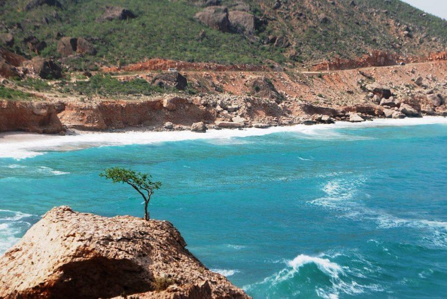Аравийское море с чистой водой