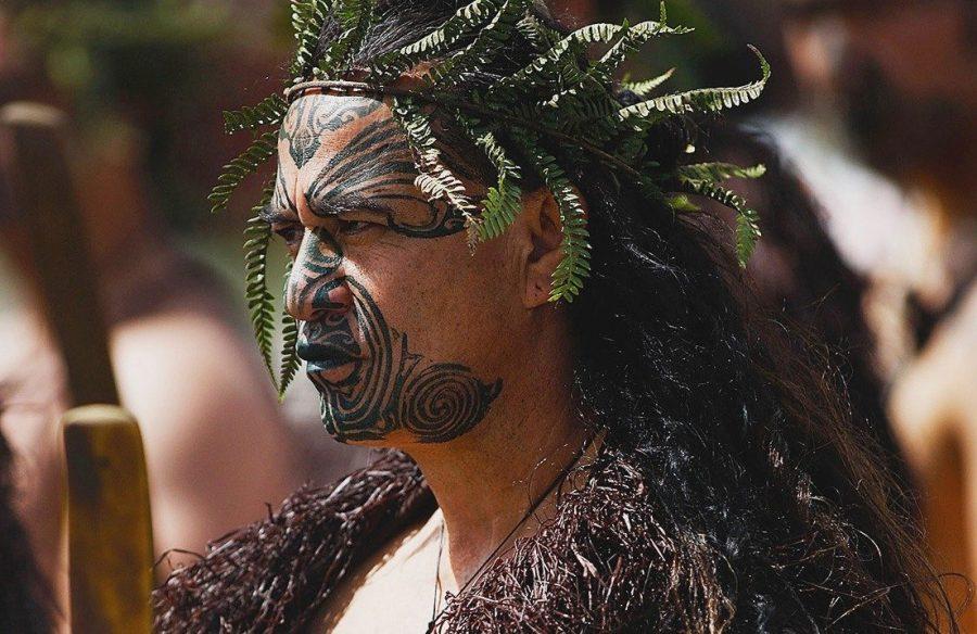 Тату племени Маори в Новой Зеландии