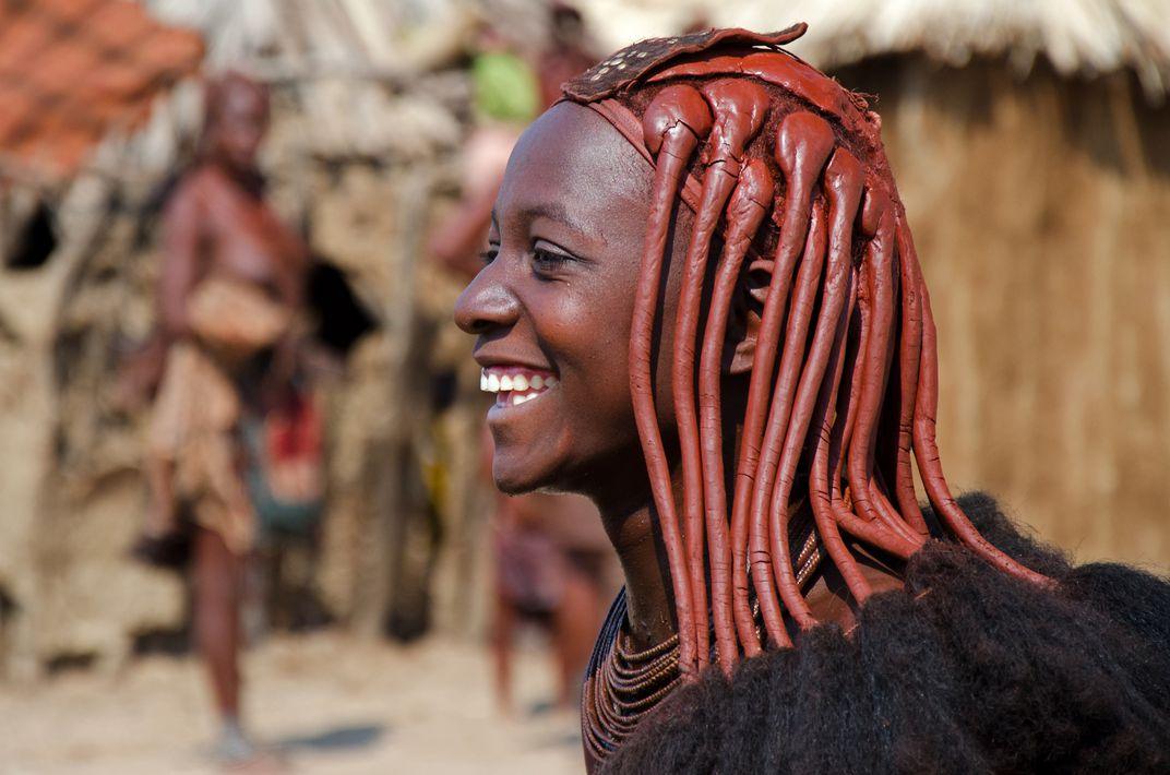 Намибия племя Химба с дредами
