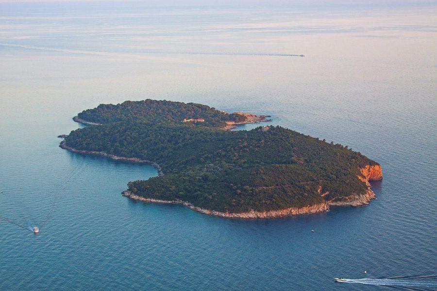 Остров в Адриатическом море