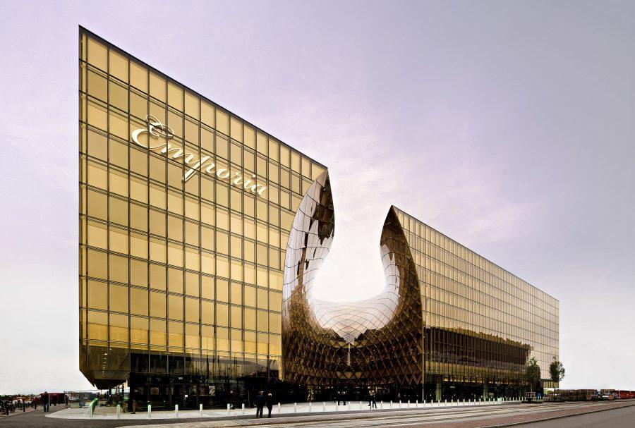 Красивый ТЦ Эмпорио в Швеции