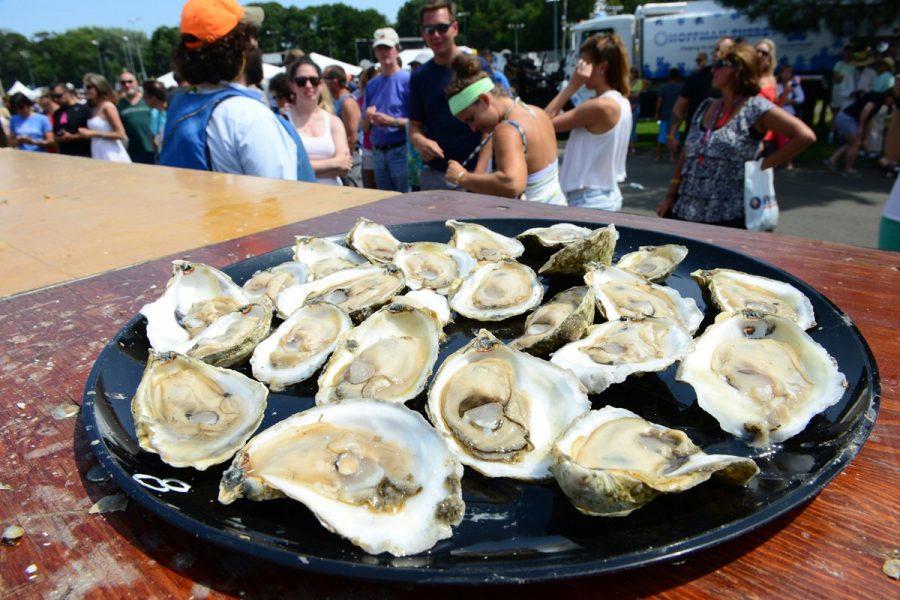 Oyster Festival в Уитстейбле