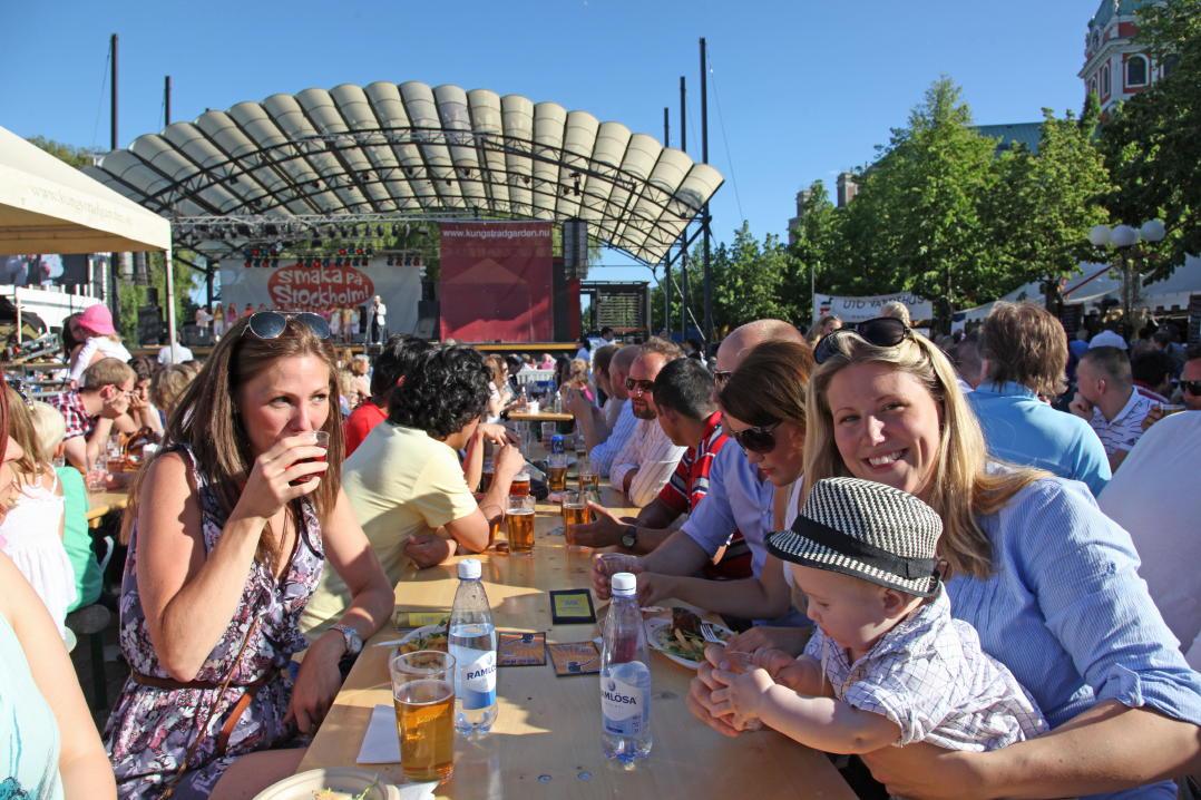 Фестиваль «Вкус Стокгольма»