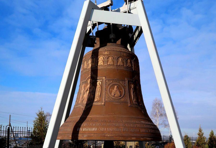 Колокол гигант в Нижнем Новгороде