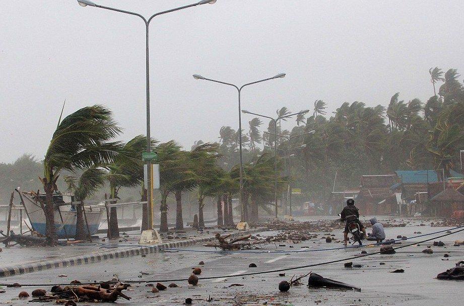 Филиппины стихийное бедствие