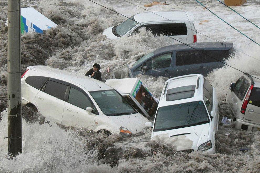 Япония стихийное бедствие