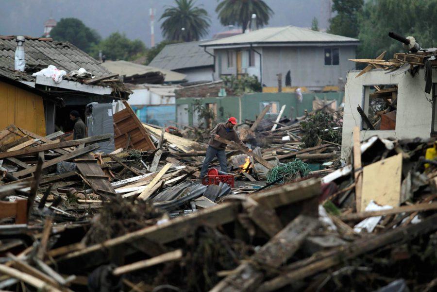В Чили стихийное бедствие