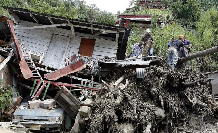 Колумбия стихийное бедствие