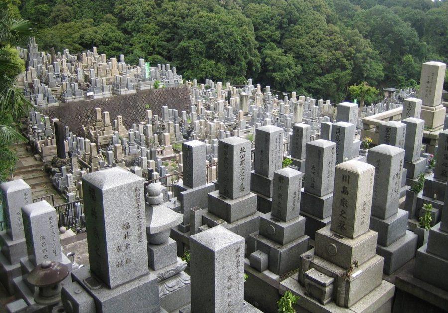 Кладбище в Японии фотографировать нельзя