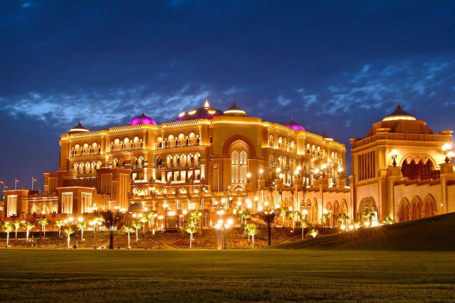 Дворец шейха в Арабских Эмиратах