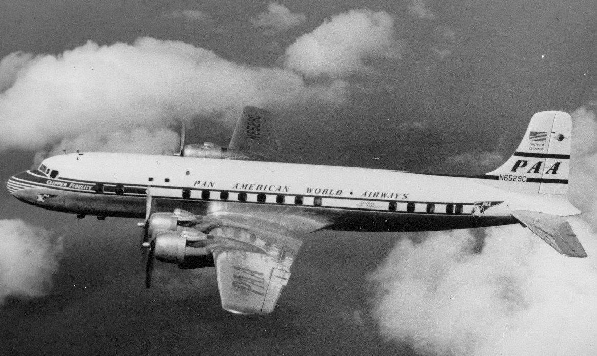 Исчезнувший самолет в 1950 году