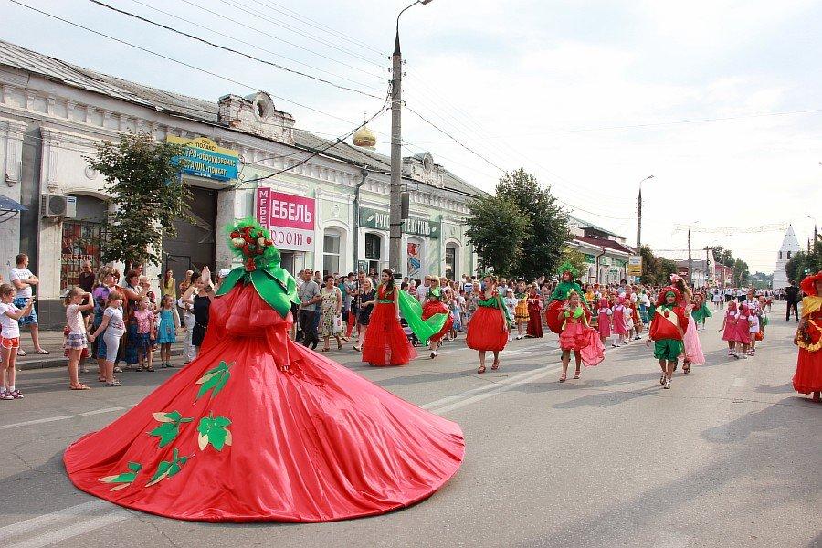 Праздник помидора в Сызрани