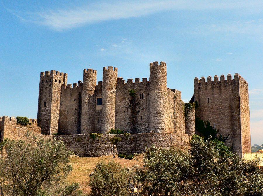 Замок в Португалии Pousada de Obidos
