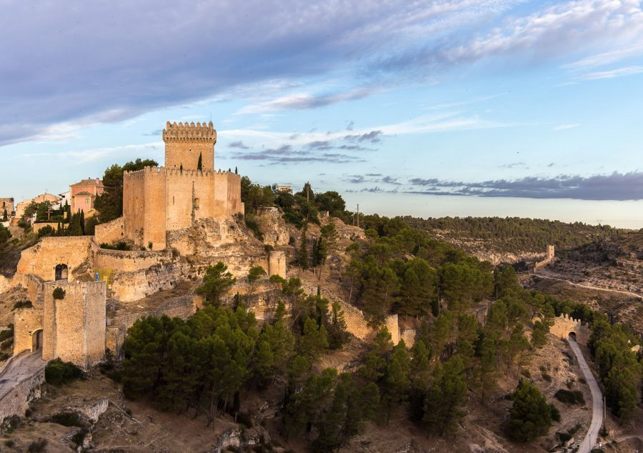Замок в Испании Castle Alarcon