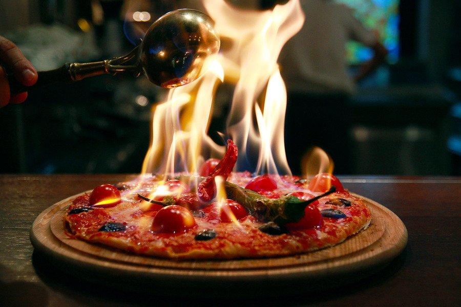 Ресторан Flame Лос-Анджелес