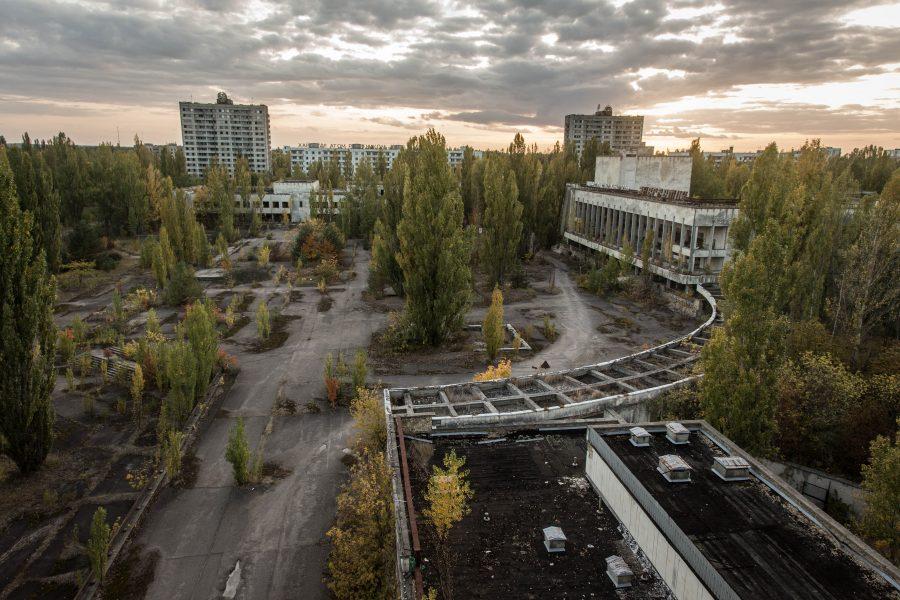 Город Припять (Украина) опасен для туристов