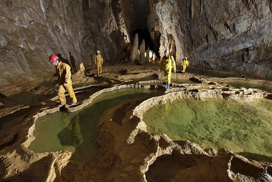 Пещера Гуфр Берже (Франция)