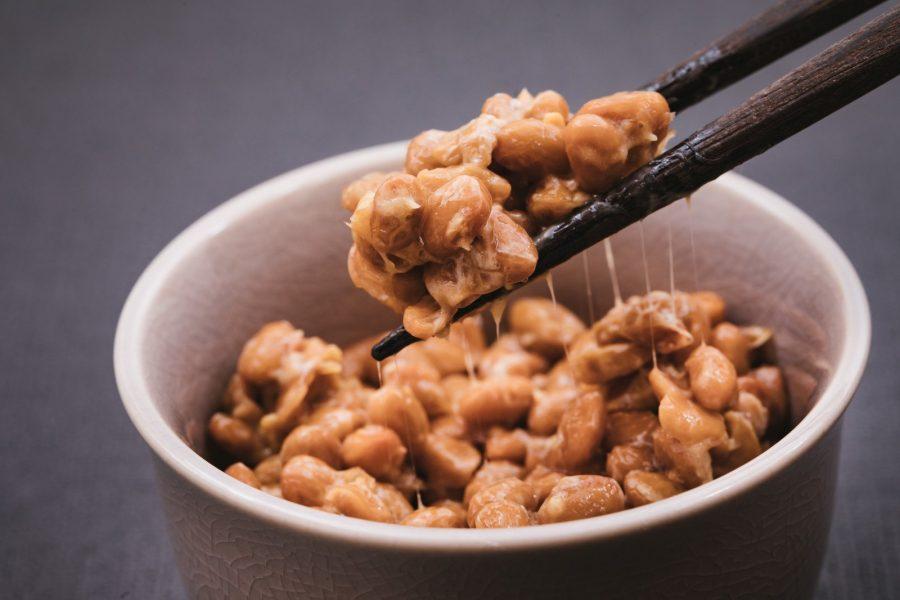 Япония на завтрак блюдо натто