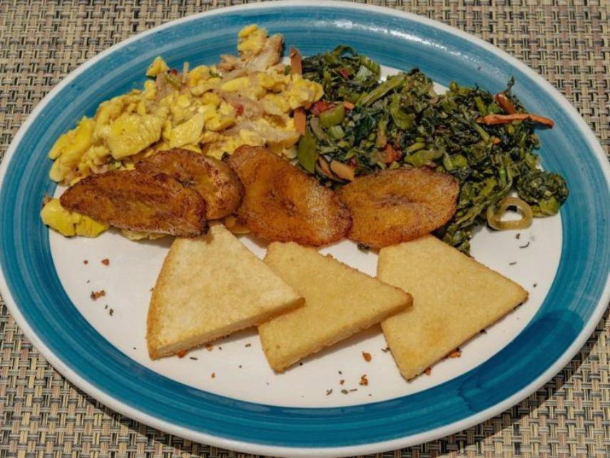 Ямайка завтрак аки и рыба