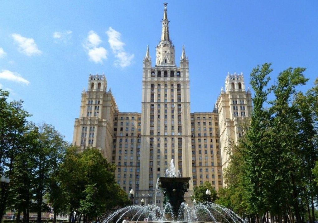 Дом авиаторов в Москве высотка