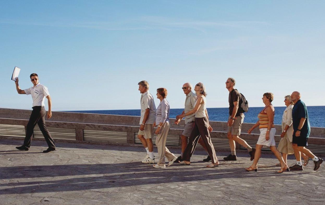 Чужая туристическая группа