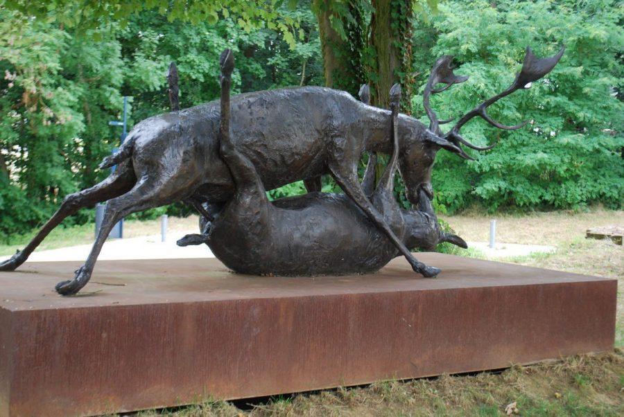 Соитие оленей, Люксембург