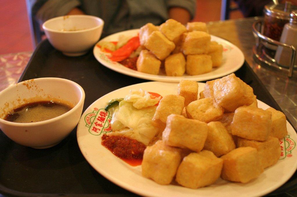 Вонючий сыр тофу в Китае