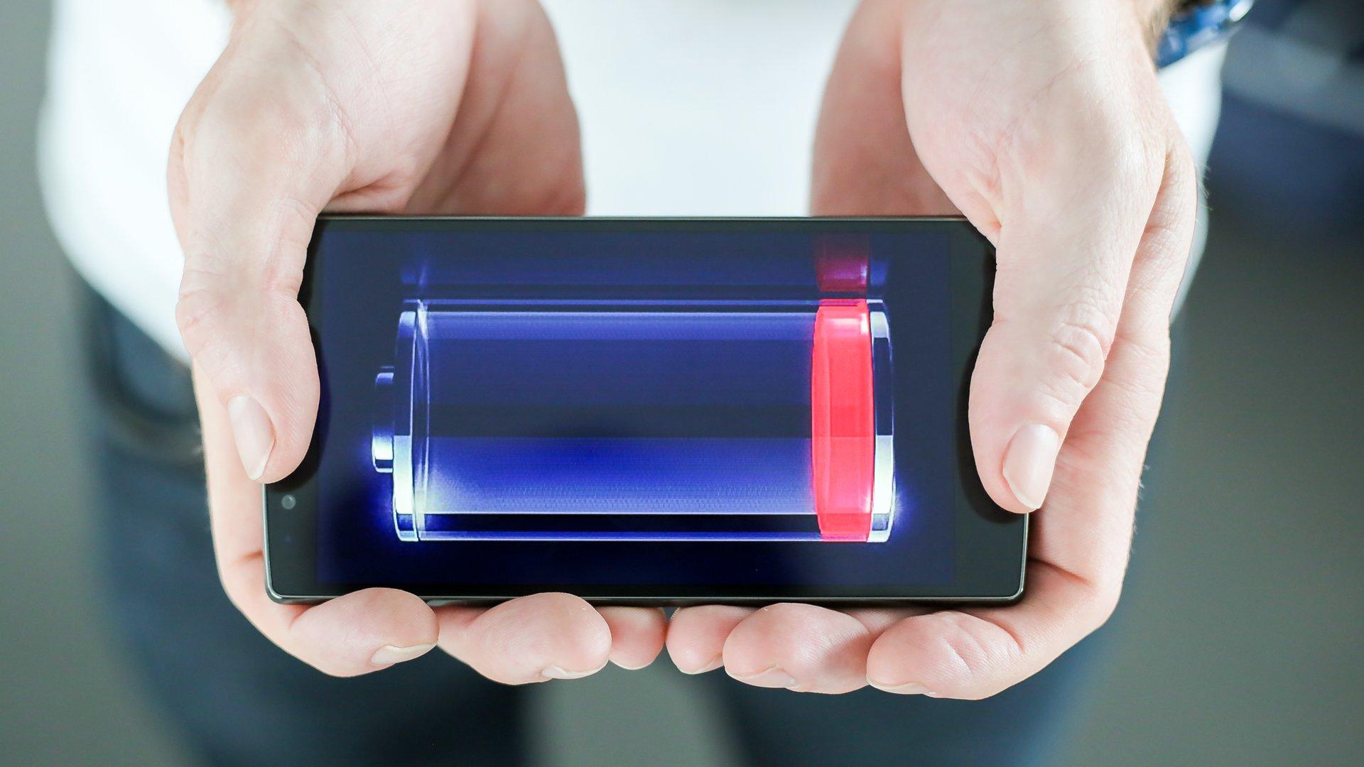 Отсутствие заряженного телефона