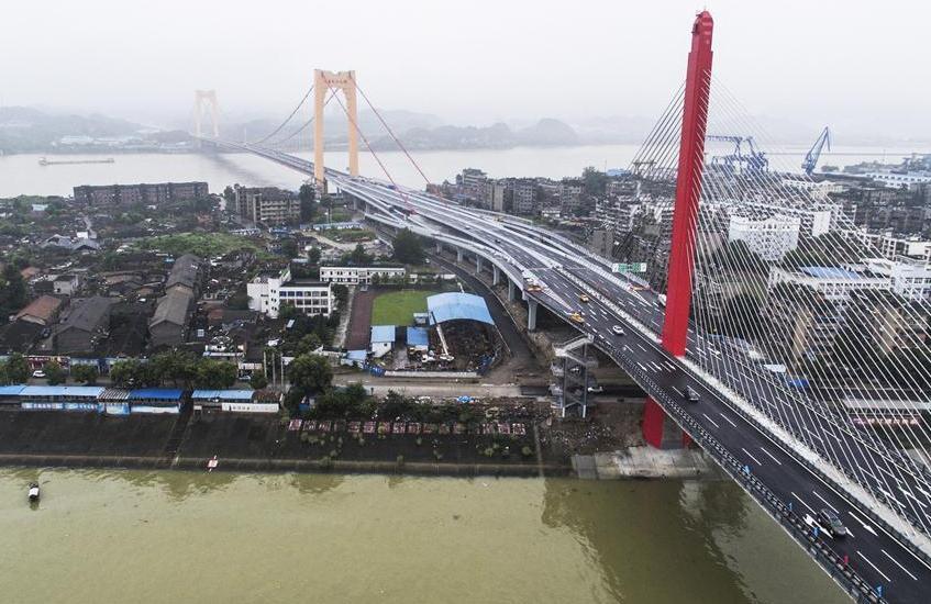 Длинный мост на реке Янцзы