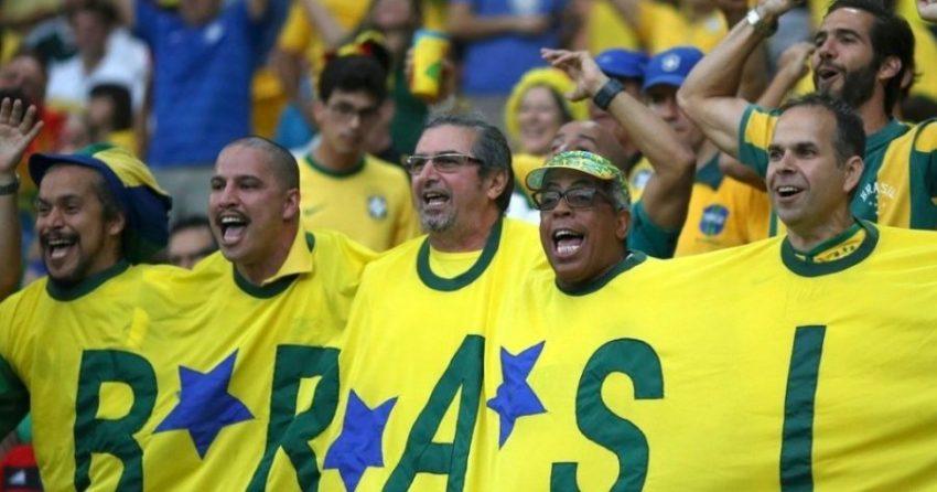 Футбольная сборная в Бразилии