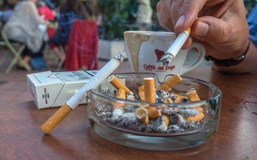 В Австрии проживает много курильщиков
