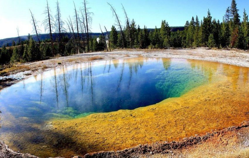Озеро утренней славы в заповеднике