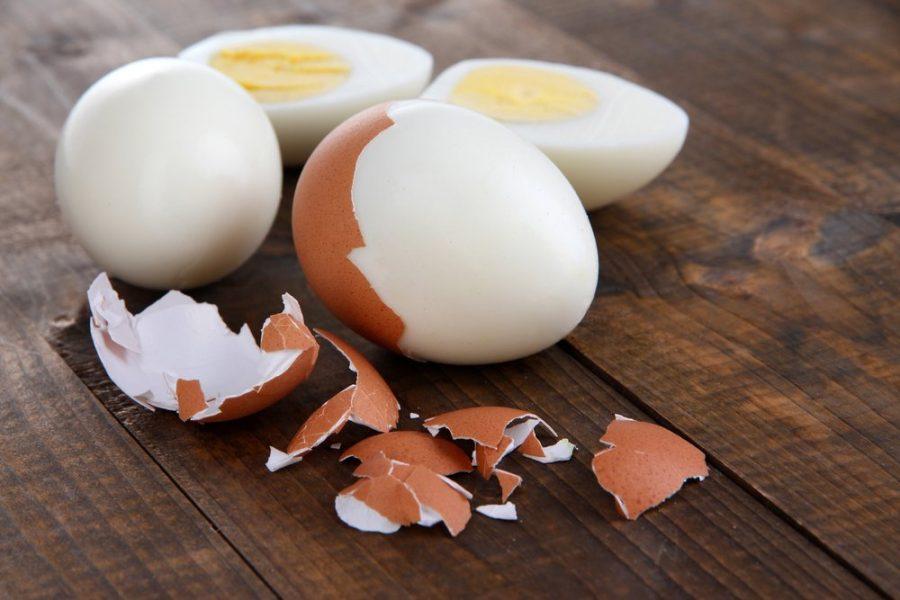 Вареные яйца взять в дорогу