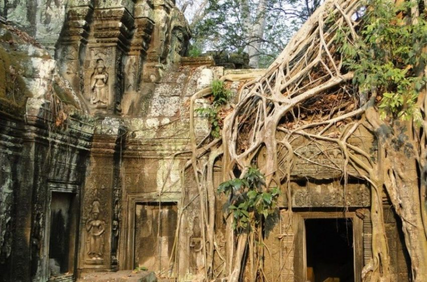 Храм Лары Крофт в Сиемриеп (Камбоджа)