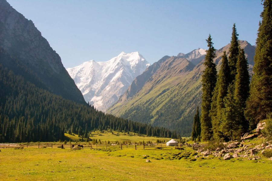 Путешествие на отдых в Киргизию