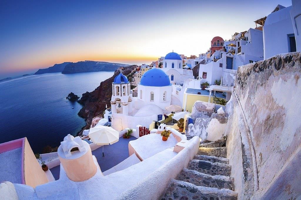 Поехать в Грецию без знания английского