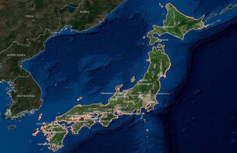 Япония это островное государство