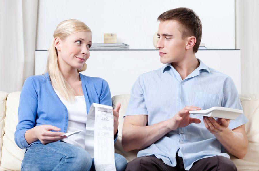 Денежные расходы супругов