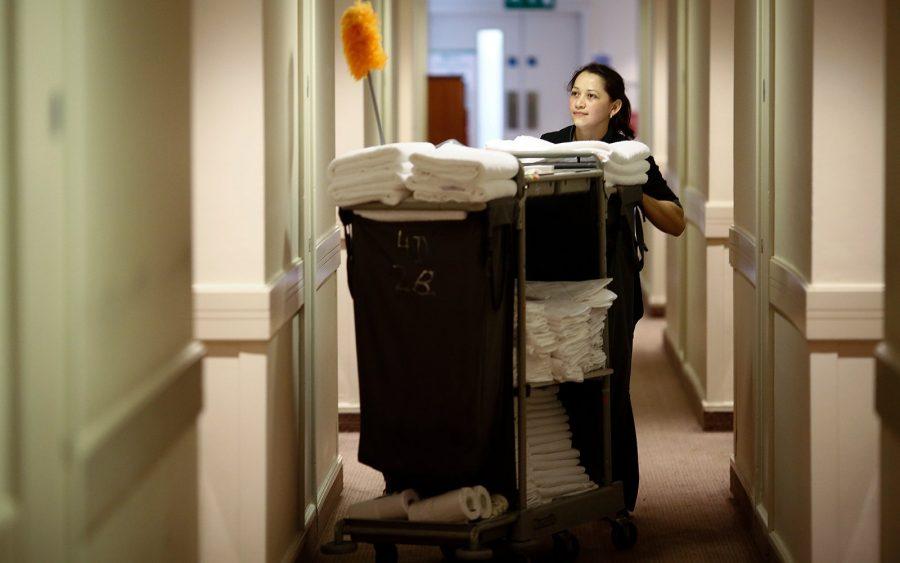 Уборка номеров в гостинице