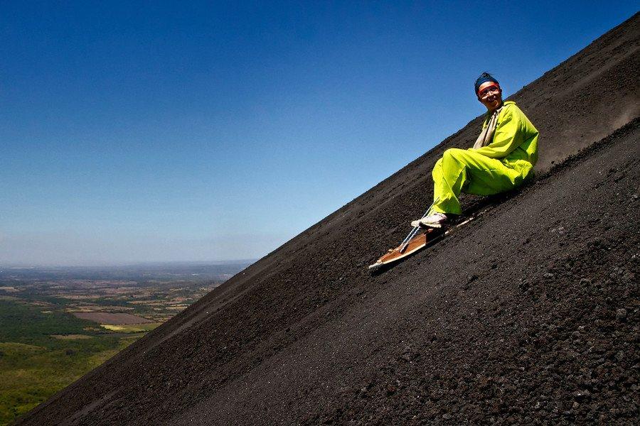 Аттракцион серфинг на вулкане