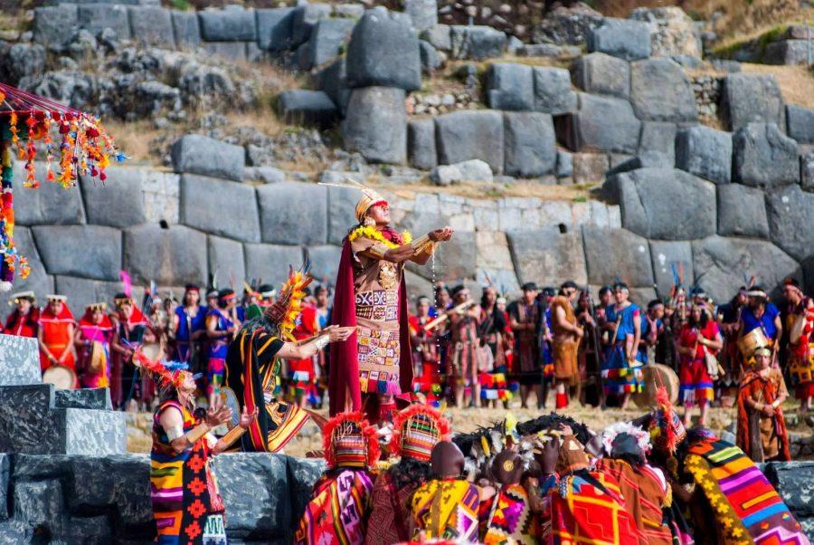 Костюмированный праздник Солнца в Перу