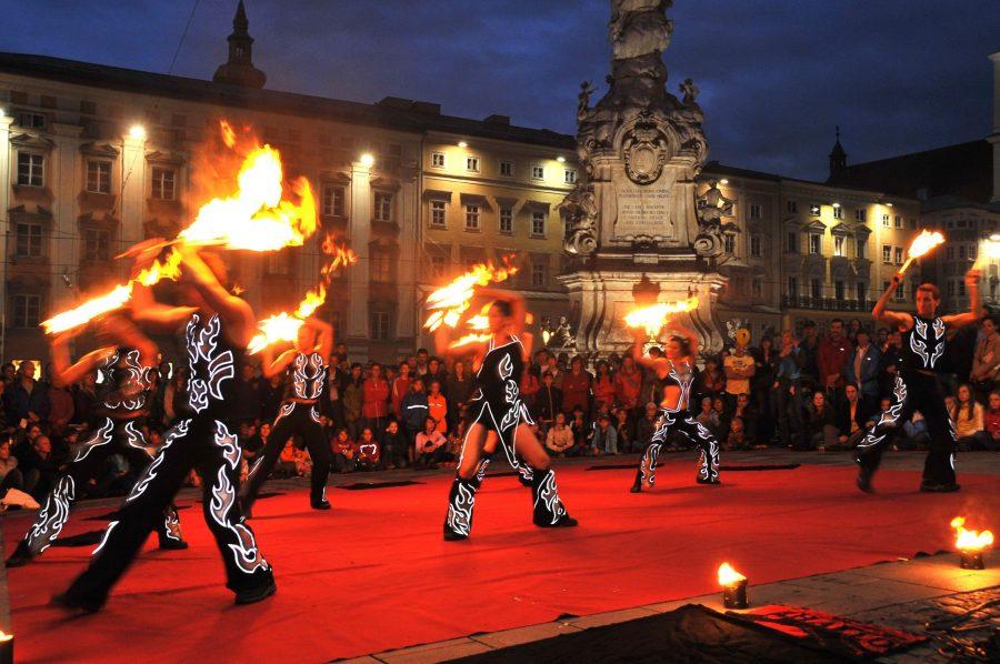 Фестиваль Pflasterspektakel в Австрии
