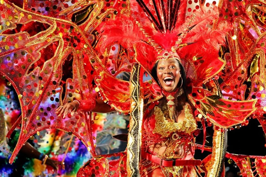 Карнавал Spice Mas в Гренаде