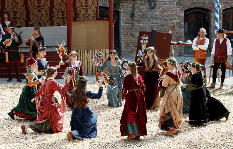 Средневековые фестивали Европы