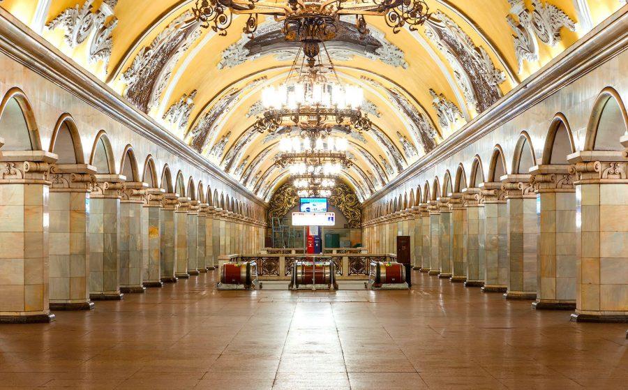 Московское метро как достопримечательность